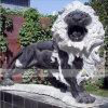 돌 새기는 사자 걷는 사자 시뮬레이션 돌 새기는 돌 작동 상승 사자 조각품 정원 훈장