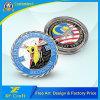 L'OEM ha personalizzato le monete di sfida dell'aeroplano del calabrone del mestiere F/a 18d del metallo per il ricordo