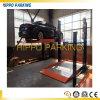 Deux niveaux de système de stationnement de voiture Simple /Simple à deux postes hydraulique Système de stationnement