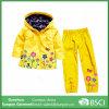 Impermeabile di Hoodies dei ragazzi del vestito dei bambini della molla (hoodie+pants)