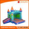 Castello rimbalzante della luna gonfiabile di divertimento dei capretti con la trasparenza combinata (T2-301)