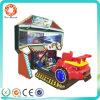 追い越されるシミュレーターのゲーム・マシン3スクリーン4D車のダイナミック競争させる