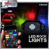 CREE 9W 10-30V IP68 RGB di alta qualità fuori dagli indicatori luminosi della roccia della strada LED per il Hummer del Wrangler della jeep di Toyota Honda