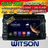 Véhicule DVD de l'androïde 5.1 de Witson pour KIA Sorento 2009-2011 (W2-A7042)
