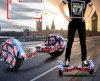 skate 10inch elétrico com luz de piscamento