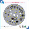 PCB de aluminio OSP de la tira blanca de 1.2mm para el tubo del LED (HYY-103)
