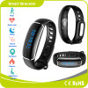 A pressão arterial de Ritmo Cardíaco Podômetro sono bracelete inteligente impermeável Android do Monitor