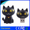 卸売は漫画かわいい猫PVC USBのフラッシュ駆動機構をカスタマイズする