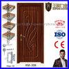 Salle de bois en PVC MDF de haute qualité ou porte de salle de bain