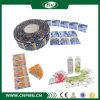 최대량 좋은 품질을%s 가진 9개의 색깔 PVC 수축 소매 레이블
