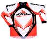 Vêtements de moto hors route (MO-MC001J - Oranger)