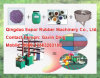 Gummifliese-hydraulische vulkanisierenpresse
