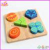 Hölzernes Form-Spielzeug - geometrisches Puzzlespiel-Spielzeug (W14A062)