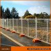 Painéis provisórios da cerca da segurança do canteiro de obras