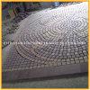 Cobblestone del giardino del granito/reticolo naturale/pietra per lastricati di pavimentazione per il giardino esterno