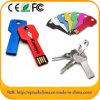 Movimentação relativa à promoção do flash do USB da chave do metal do presente do Natal (ED001)