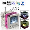 Beweglicher Lautsprecher USB-MP3 für Mobile/Computer