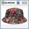 ラベルのロゴの普及した花ブランクバケツの帽子をカスタム設計しなさい