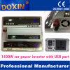 Инвертор солнечной силы автомобиля DC-AC 1500W с портом USB (DXP1500WUSB)