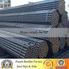 Tubo de acero redondo del carbón negro del horario 40 ERW de ASTM A53