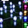 Floco de neve 10m 100LED Christmas Light String