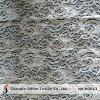 Tissus indiens de lacet de coton en nylon de tricot (M3013)