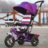 Bebê por atacado livrado no triciclo do bebê da carruagem de bebê do triciclo do carro