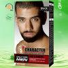 30ml noir naturel Brosse de caractères dans l'homme la barbe le gel de couleur