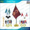 A economia dá afastado a presente a bandeira Desktop plástica da tabela (A-NF09P04016)