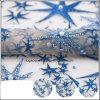 Связанная ткань шнурка вышивки перлы сетки Handwork полиэфира новая
