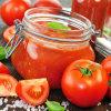 In Büchsen konservierte Tomatensauce, Tomate-Püree, Tomatenkonzentrat