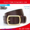 Castiçal Formal Bussiness Belt Buckle para cinto de couro Geuine