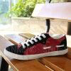Sapatos masculinos de lona Sapatos de borracha (SNC-02077)
