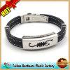 Mode-Metall-Silikon-Armband mit Chram (TH-MT015)