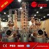la columna de cobre del destilador 6plates de la vodka del reflujo 150L-5000L destila a destiladores caseros del alcohol del equipo