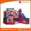 Spiderman-Thema-aufblasbares springendes Schloss kombiniert für Vergnügungspark (T3-210)