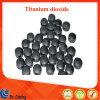 Tablette d'agglomération de dioxyde de titane du granule TiO2 de grande pureté pour la machine optique de placage de vide