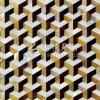 Disegni sulle mattonelle di mosaico di vetro madreperlacee delle coperture