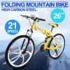 montagna piegante 26  21-Speed che attenua la bicicletta della bici