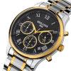 スイスの自動ステンレス鋼の男性用腕時計
