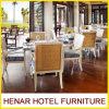 호텔 대중음식점 가구를 위한 현대 고리 버들 세공 식당 여가 의자