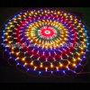 Forma redonda de 1,5 millones netos LED ilumina el LED decoración malla