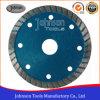 105mm Diamond prensa fría Hoja de sierra de sinterizado de Turbo para el corte de Granito