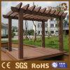 Pergola de madeira composto do jardim de Foshan, área ao ar livre da sala de estar