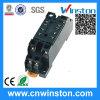 Général Purpoe 8pin plastique automatique Solid State Socket relais avec CE