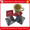 De promotie Cork van de Koffie Reeks van de Onderlegger voor glazen