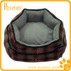 Removable Pillow (PT38650)の格子縞Reversible Oblong Pets Bed