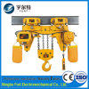 Alzamiento eléctrico portable eléctrico superbajo de elevación de 10 toneladas de la altura los 9m de la alta calidad del certificado del CE ISO9001 mini (HETL10-04)