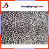 Шерсть Faux леопарда подкладки пальто нижнего конца напечатанная тканью искусственная