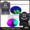 Der zwei Seiten-Träger u. bewegliche der Kopf DJ der Wäsche-LED beleuchten
